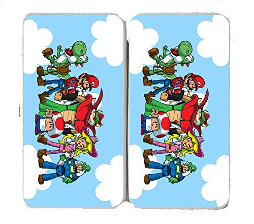 'Plumbing Story Group' Funny Video Game & Children's Cartoon Movie Parody - Taiga Hinge Wallet Clutch
