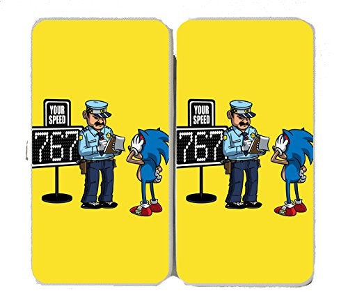 'Speeding Ticket' Funny Video Game Character Parody - Taiga Hinge Wallet Clutch