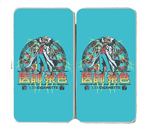 'Back to Japan' Classic Movie Parody - Taiga Hinge Wallet Clutch