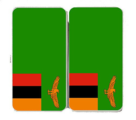 Zambia - World Country National Flags - Taiga Hinge Wallet Clutch