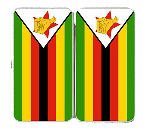 Zimbabwe - World Country National Flags - Taiga Hinge Wallet Clutch