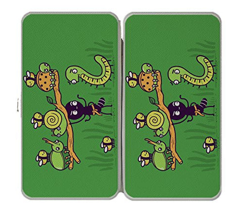 'Ant Strong Man' Cute Insect Bug Muscles - Taiga Hinge Wallet Clutch
