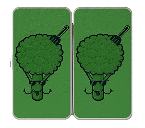 'B-Roc' Broccoli Humor - Taiga Hinge Wallet Clutch