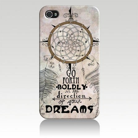 Dream Catcher Hard Case Cover for Iphone 4 4s 4th Generation - Plastic Box