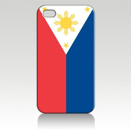 Philippines Flag One Direction Hard Case for Iphone 4 4s At&t Sprint Verizon Packing.