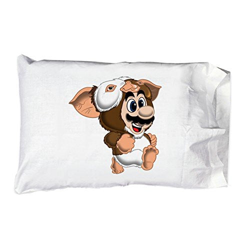 Pillow Case Single Pillowcase - 'Plumblin' Classic Movie & Game Parody