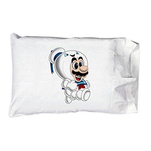Pillow Case Single Pillowcase - 'Stay Plump' Movie & Game Parody