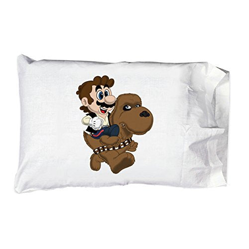 Pillow Case Single Pillowcase - 'Mans and Yewie' Movie & Game Parody