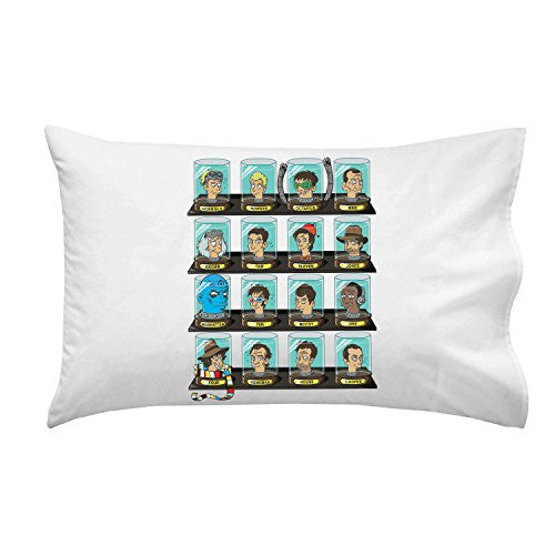 'Doctorama' Doctor Characters Parody - Pillow Case Single Pillowcase