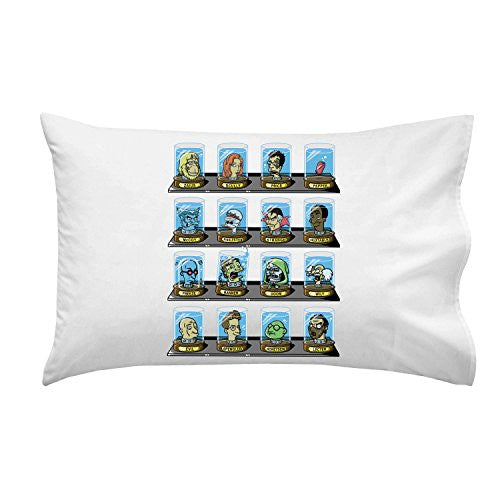 'Doctorama 2' Doctor Characters Parody - Pillow Case Single Pillowcase
