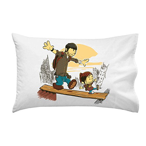 'Just the 2 of Us' Video Game Parody - Pillow Case Single Pillowcase