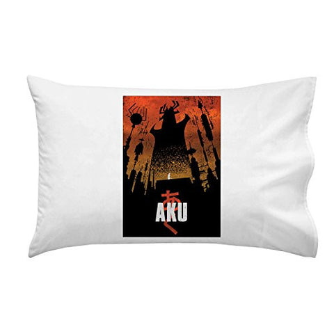 'Akaiju' Cartoon & Monster Parody - Pillow Case Single Pillowcase