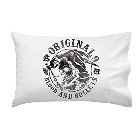 'Blood & Bullets' TV Show Parody - Pillow Case Single Pillowcase