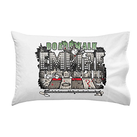 'Bordwalk Empire' TV Show Parody - Pillow Case Single Pillowcase
