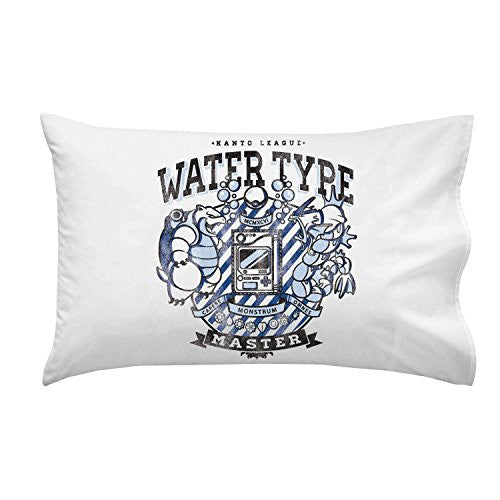 'Water Type' Anime TV Show Parody - Pillow Case Single Pillowcase