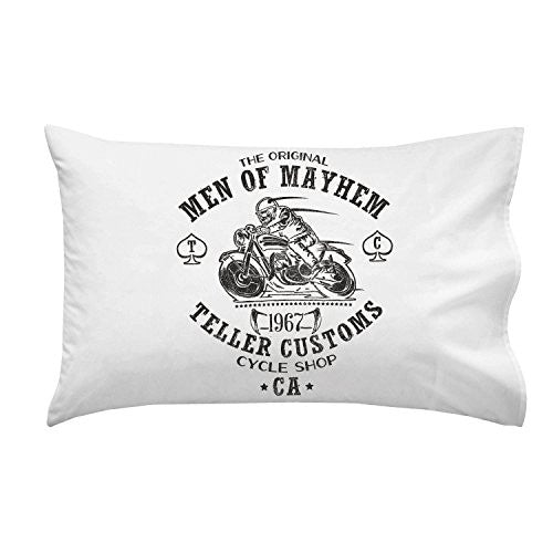'Teller Customs' TV Show Parody - Pillow Case Single Pillowcase