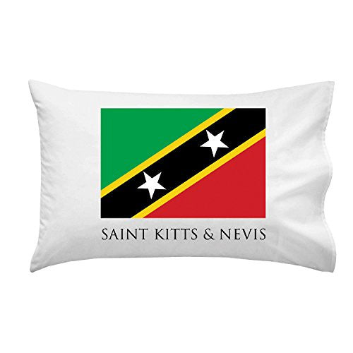 Saint Kitts & Nevis - World Country National Flags - Pillow Case Single Pillowcase