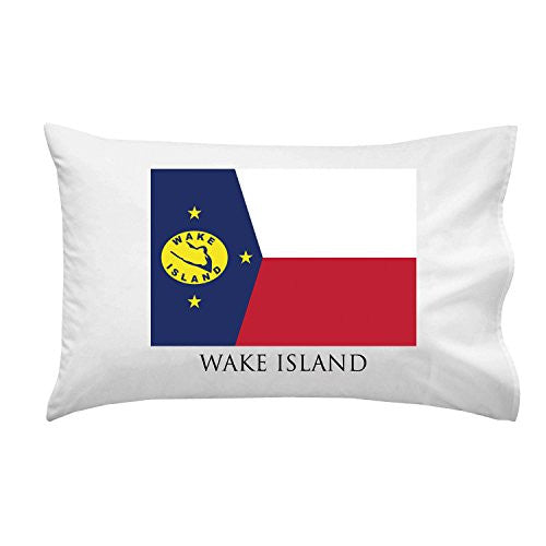 Wake Island - World Country National Flags - Pillow Case Single Pillowcase