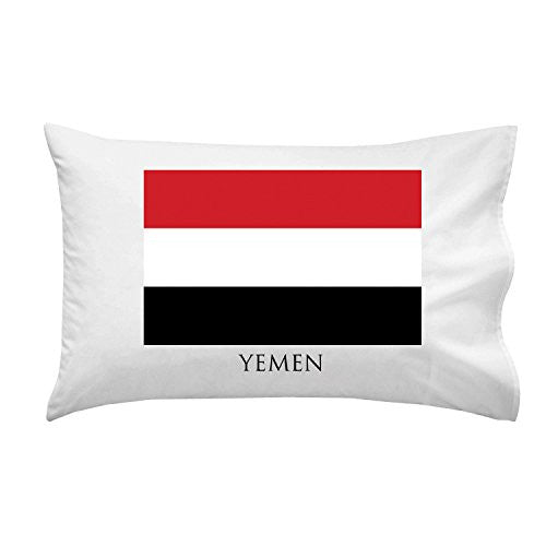 Yemen - World Country National Flags - Pillow Case Single Pillowcase
