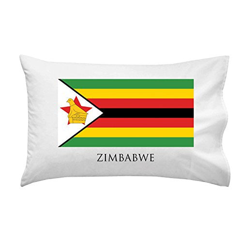 Zimbabwe - World Country National Flags - Pillow Case Single Pillowcase