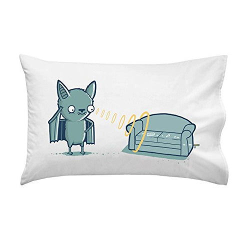 'Bat' Supersonic Couch - Pillow Case Single Pillowcase