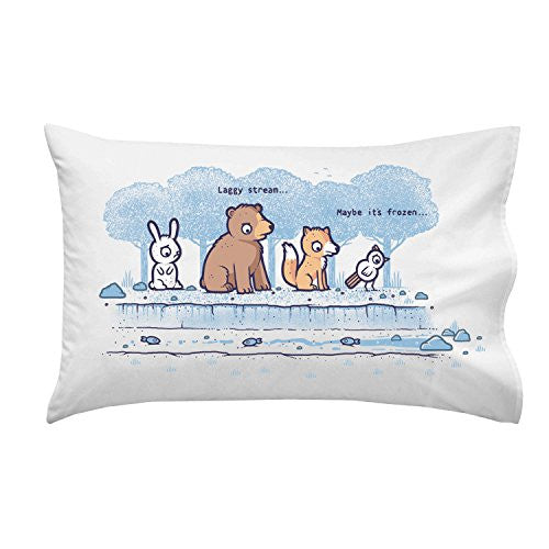 'Laggy Stream' Internet Service Parody - Pillow Case Single Pillowcase