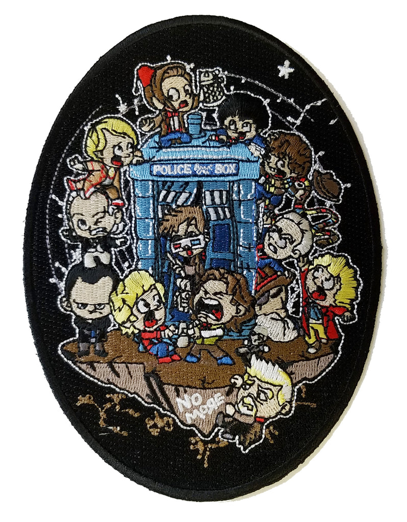 """Let's Play"" Science Fiction Television Show Parody - Novelty Iron On Patch Applique HS P - COD - 0040"