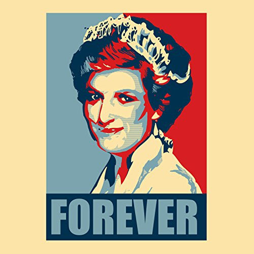 'Princess Diana Forever' Political Poster Style Design - Vinyl Sticker
