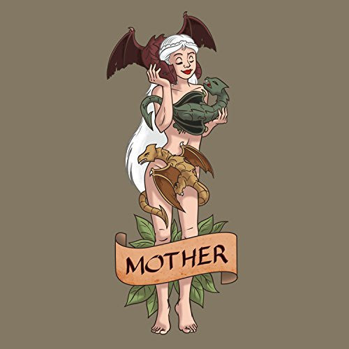 'Mother of Dragons' Medieval TV Show Parody - Vinyl Sticker