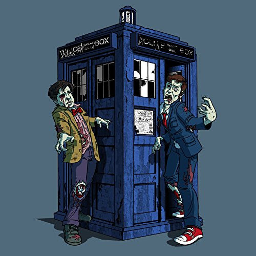 Vinyl Sticker - 'Doctor Zombies' TV Show Parody