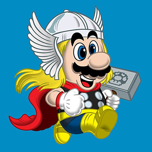 Vinyl Sticker - Plumber of Lightning Hero & Game Parody