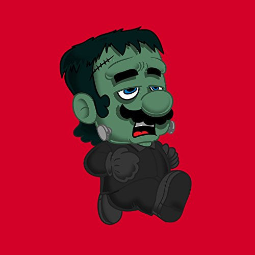 Vinyl Sticker - Frankenplumber Movie & Game Parody