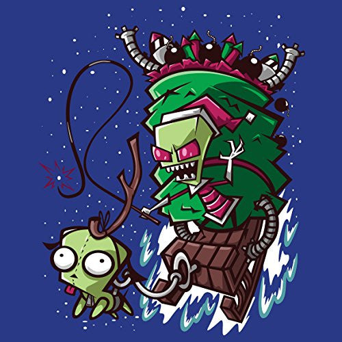 'Zim Stole Christmas' Cartoon Parody - Vinyl Sticker