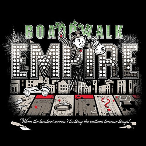 'Bordwalk Empire' TV Show Parody - Vinyl Sticker