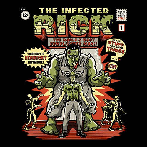 'The Infected Rick' TV Show Parody - Vinyl Sticker
