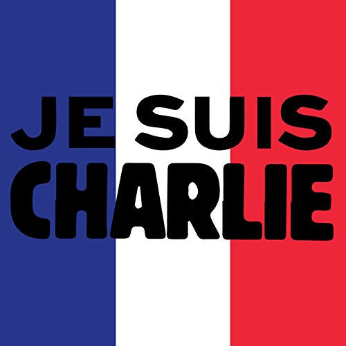 'JE SUIS CHARLIE' French Flag Patriotism Design - Vinyl Sticker