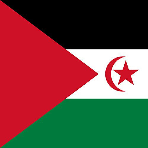 Western Sahara - World Country National Flags - Vinyl Sticker