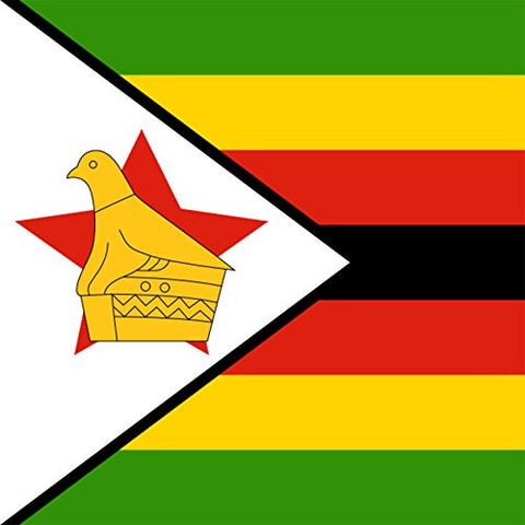Zimbabwe - World Country National Flags - Vinyl Sticker