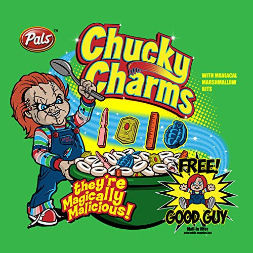 Vinyl Sticker - Chucky Charms - Parody Design