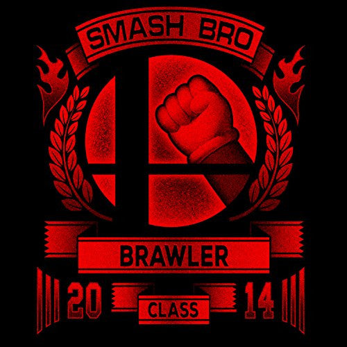 Vinyl Sticker - Smash Bro Brawler - Parody Design
