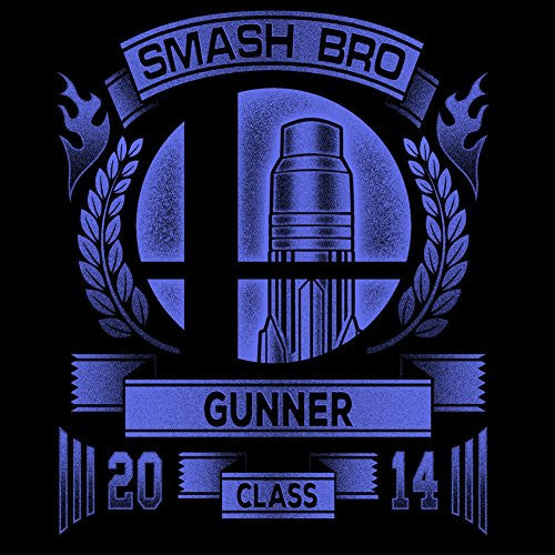 Vinyl Sticker - Smash Bro Gunner - Parody Design