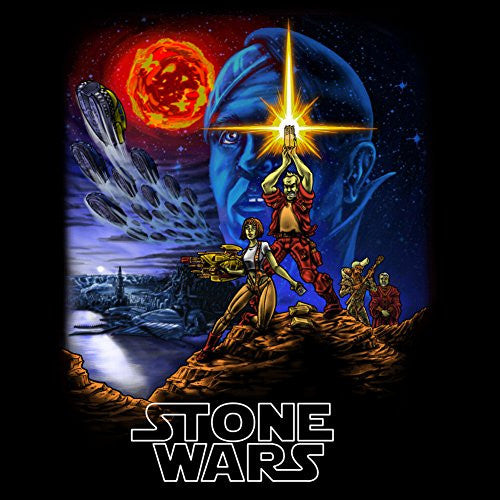 Vinyl Sticker - Stone Wars - Parody Design