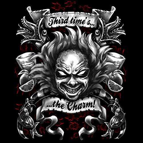 Vinyl Sticker - Third Time's the Charm - Parody Design