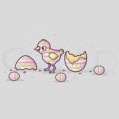 'Easter Egg Chick' Cute Color Bird - Vinyl Sticker