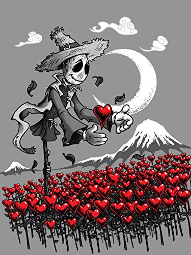 'Mr. Scarecrow Found His Heart' Classic Movie Parody 18x24 - Vinyl Print Poster