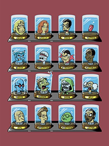 'Doctorama 2' Doctor Characters Parody 18x24 - Vinyl Print Poster