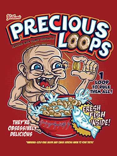 'Precious Loops' Movie Film Parody 18x24 - Vinyl Print Poster