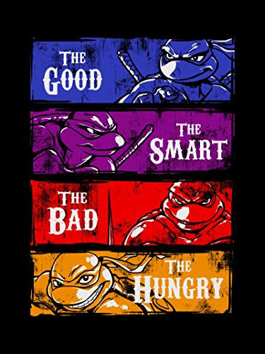 Vinyl Print Poster - 18x24 Good, Bad, Smart, & Hungry - Parody Design