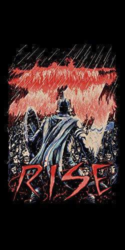 'Rise' Movie Film Parody - Plywood Wood Print Poster Wall Art