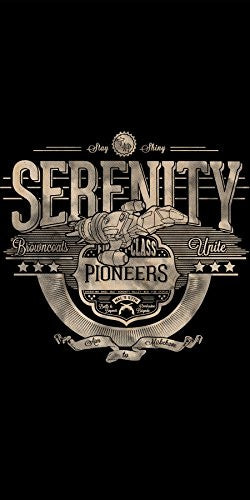 'Serenity' TV Show Parody - Plywood Wood Print Poster Wall Art